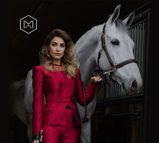 Moxxie! A new stylish equestrian sportswear for millennials