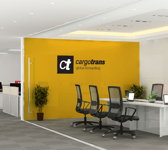 CargoTrans Global Forwarding Re-branding with Aimstyle